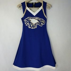 Blue Eagle Cheerleader outfit XS 0/2